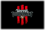 Unreal Tournament 3 Logo black