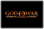 God of War Chains of Olympus Logo black