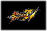 Street Fighter IV Logo black