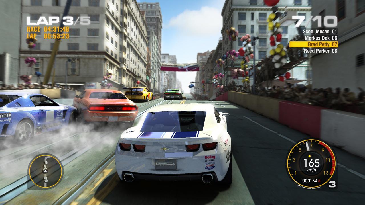 Trailer de Race Driver GRID
