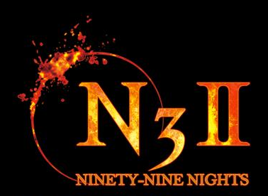 Ninety Nine Nights II Logo 4 black