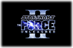 Star Wars The Force Unleshed II Logo black