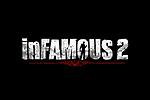 Infamous 2 Logo black