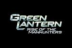 Green Lantern Rise of the Manhunters Logo black