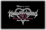 Kingdom Hearts 3D Dream Drop Distance Logo black