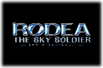 Rodea The Sky Soldier - Wii U Logo black
