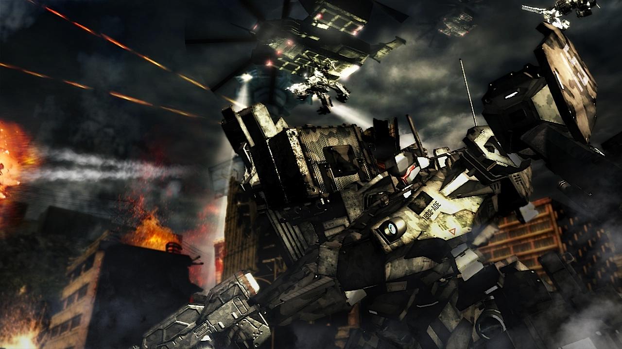Armored Core 5: Imágenes nuevas y el trailer (actualizado)