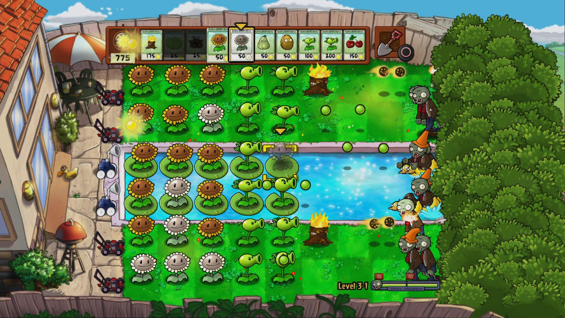 Plants Vs Zombies, y si lo hicieron sepan que la versión de