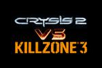 Crysis 2 vs KillZone 3 Logo black