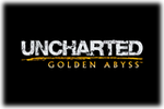 Uncharted Golden Abyss Logo black