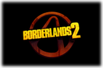 Borderlands 2 Logo black