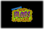 Tales form-Space Mutant Blobs Attack Logo black