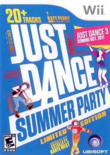 Just Dance Summer Party [Wii 1 DVD5 Ita] [Nautilus-BT]