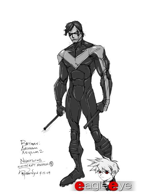Batman Arkham City: Un video de Robin, imágenes Nightwing y mucho mas