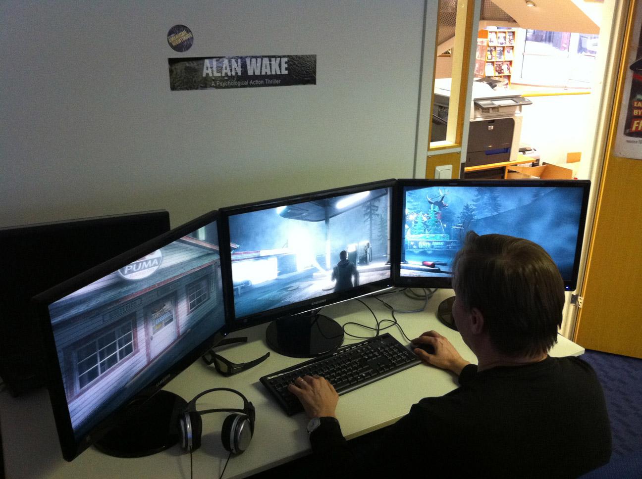 Alan Wake Remedy Confirma Soporte 3d Y Multi Pantalla