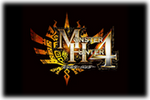 Monster Hunter 4 Logo 2 black