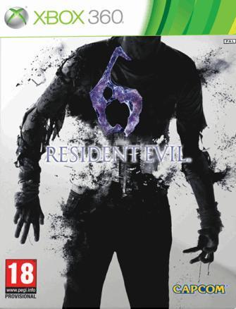 Resident Evil 6: La caratula de la edición estandard