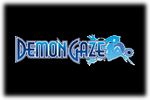 Demon Gaze Logo black