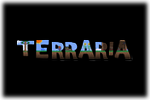 Terraria Logo black