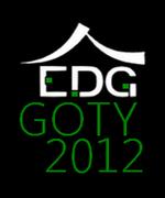 EDG GOTY 2012 Logo black