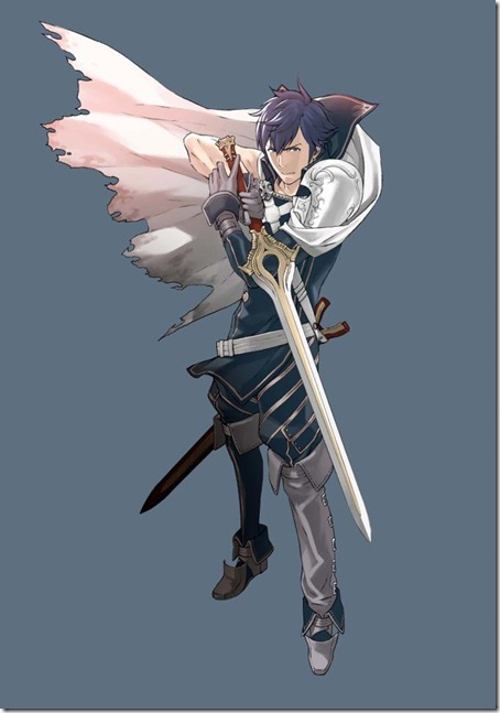 Fire Emblem Awakening - Artwork  - Chrom