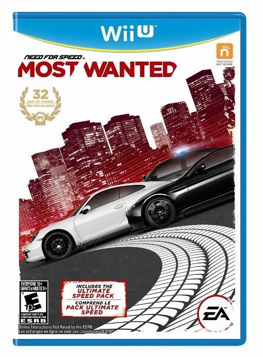 Need For Speed Most Wanted box Wii U USA