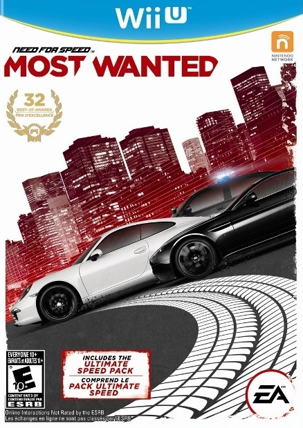 Need For Speed Most Wanted cover Wii U USA