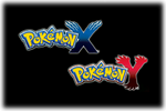 Pokemon X  & Y  Logo black