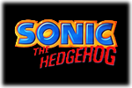 Sonic The Hedgehog Logo black