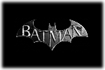 Batman Arkham Logo black
