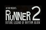 Bit.Trip Presents Runner 2 Future Legend of Rhythm Alien Logo black