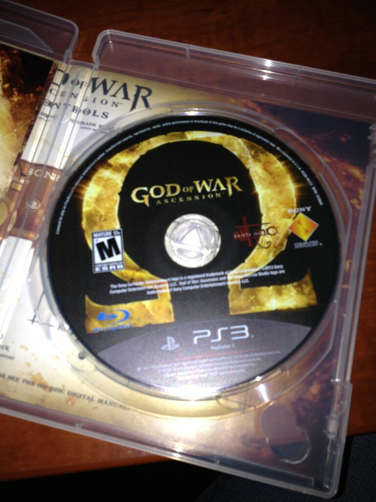 God of War Ascension es Gold