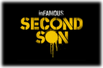 in FAMOUS Second Song Logo black