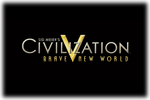 Civilization V Brave New World Logo black