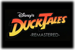 Duck Tales Remastered Logo black