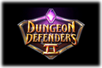 Dungeon Defenders II Logo black