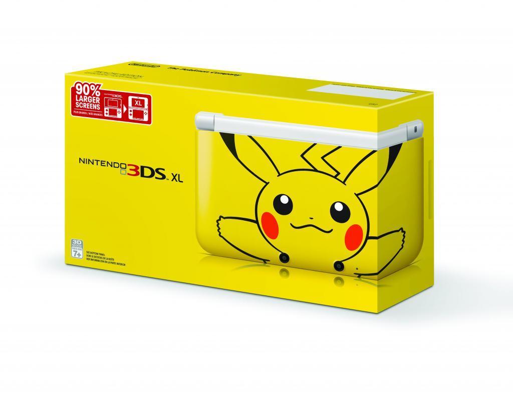 Nintendo 3DS XL Pikachu Especial Edition 001