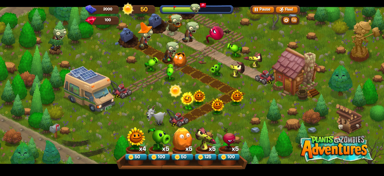 Plants vs Zombies Adventures 26-03-13 01