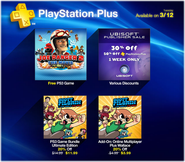 Playstation Plus 12-03-13