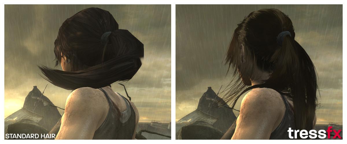 Tomb Raider Tress FX 002