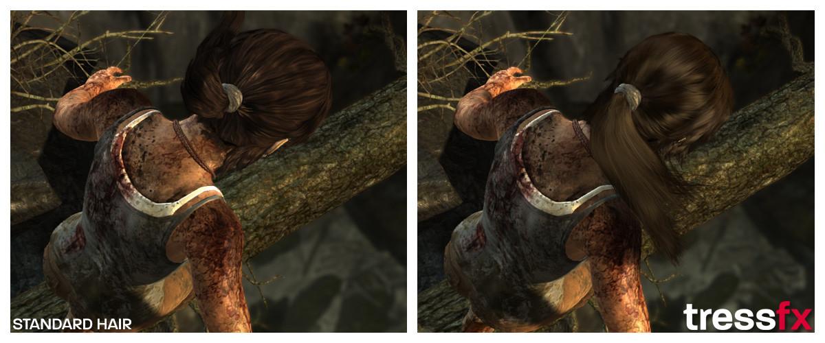 Tomb Raider Tress FX 003
