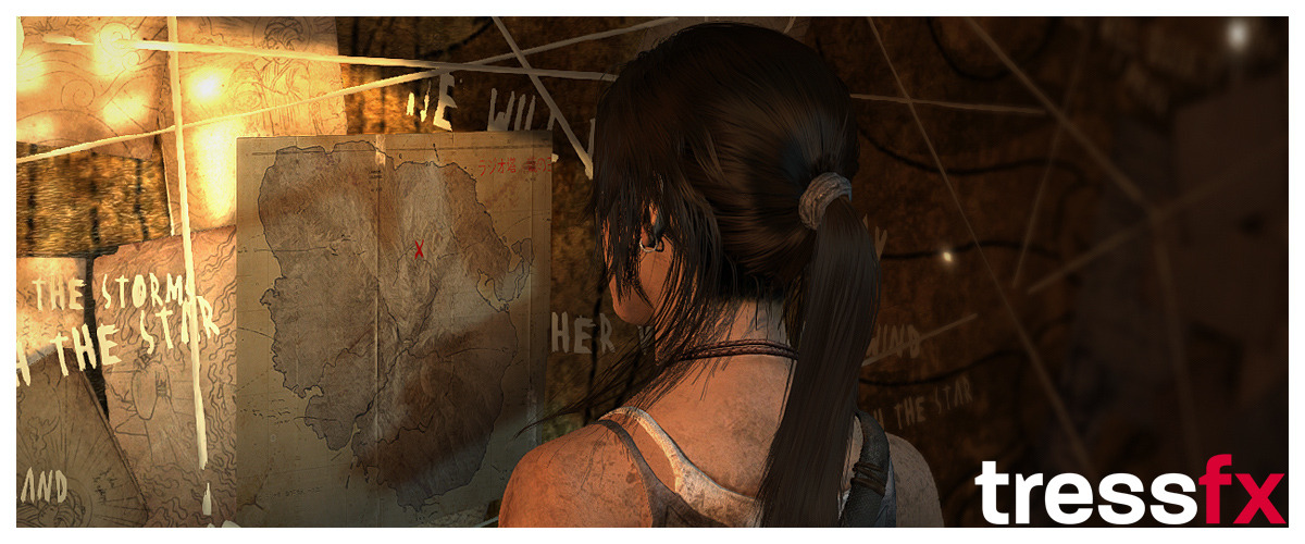 Tomb Raider Tress FX 005