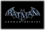 Batman Arkham Origins Logo black