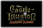 Castle of Illusion Starrin Mickey Mouse Logo