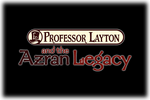 Professor Layton and the Azran Legacy Logo black