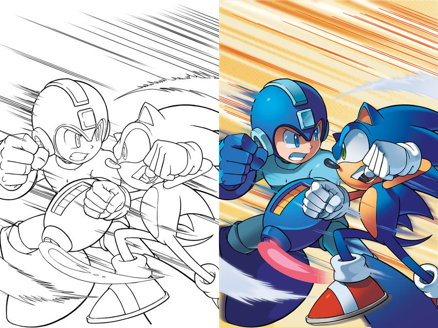Sonic-Mega Man - Worlds Collide  19-04-13 002