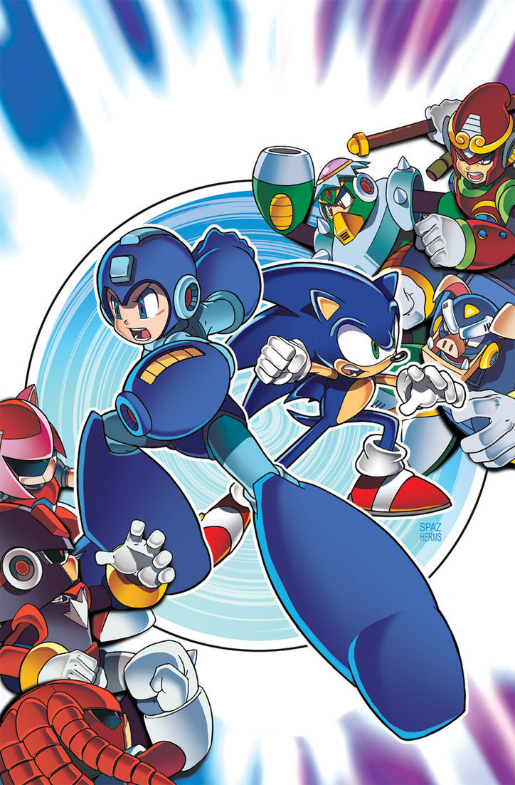 Sonic-Mega Man - Worlds Collide  19-04-13 003