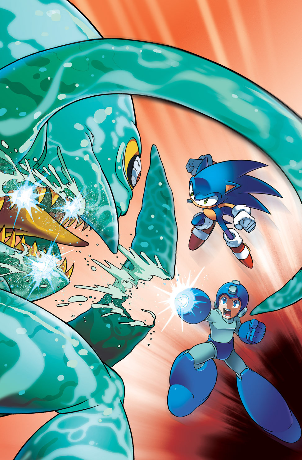 Sonic-Mega Man - Worlds Collide  19-04-13 004