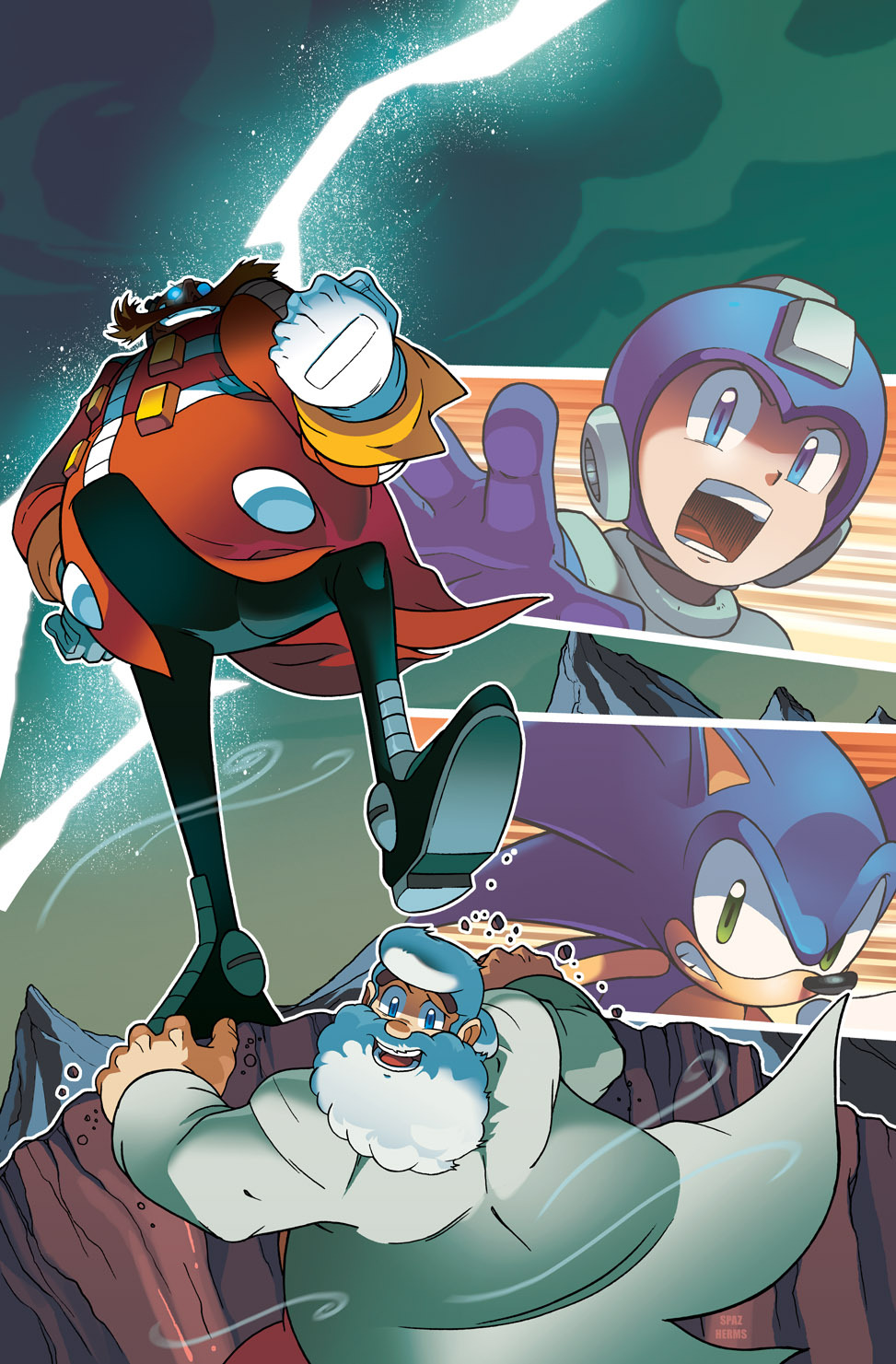 Sonic-Mega Man - Worlds Collide  19-04-13 005