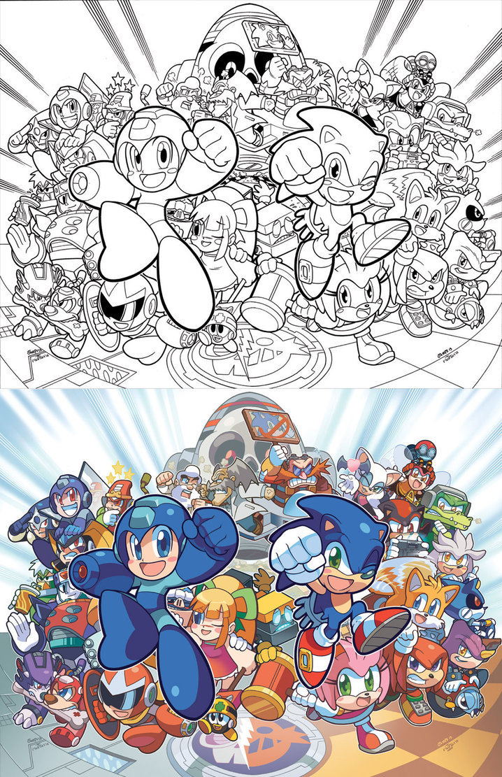 Sonic-Mega Man - Worlds Collide  19-04-13 006